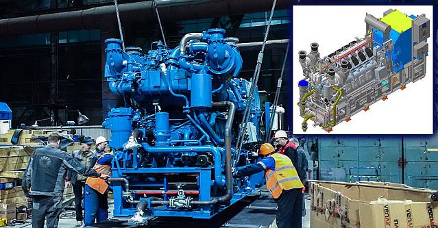 От проекта к готовому изделию. Судовой дизель-генератор ZE1600KZ на заводе «Звезда-Энергетика» в Петербурге — в «цифре» в КОМПАС-3D на ядре C3D и в металле