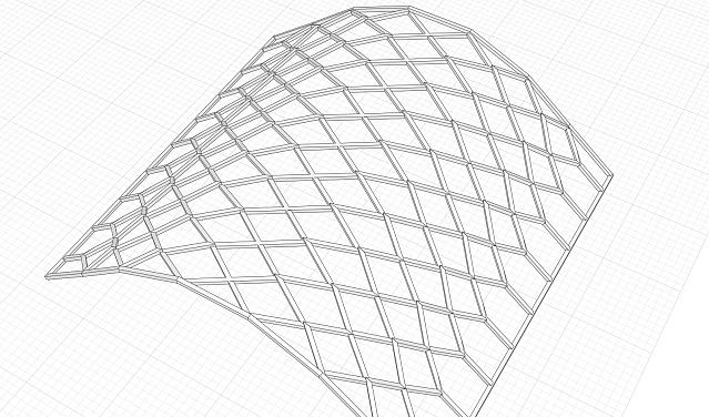 2: Система из металлоконструкций