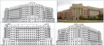 знаменитый дом на сто квартир в Новосибирске