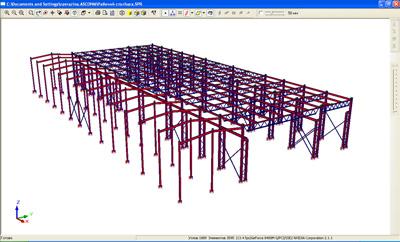 Передача модели в расчетную систему SCAD для расчета и анализа