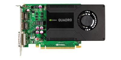 Графический ускоритель NVIDIA Quadro K2000