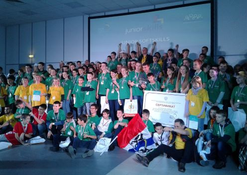 Победители JuniorSkills Hi-Tech — 2015