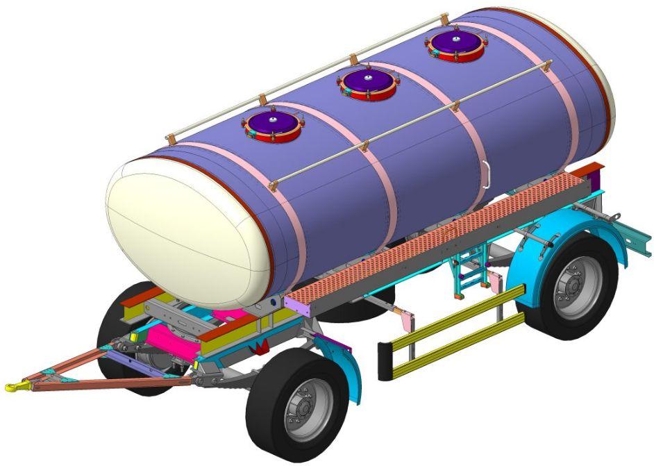 Прицеп-цистерна 8602-04 (ПАО «НефАЗ»)