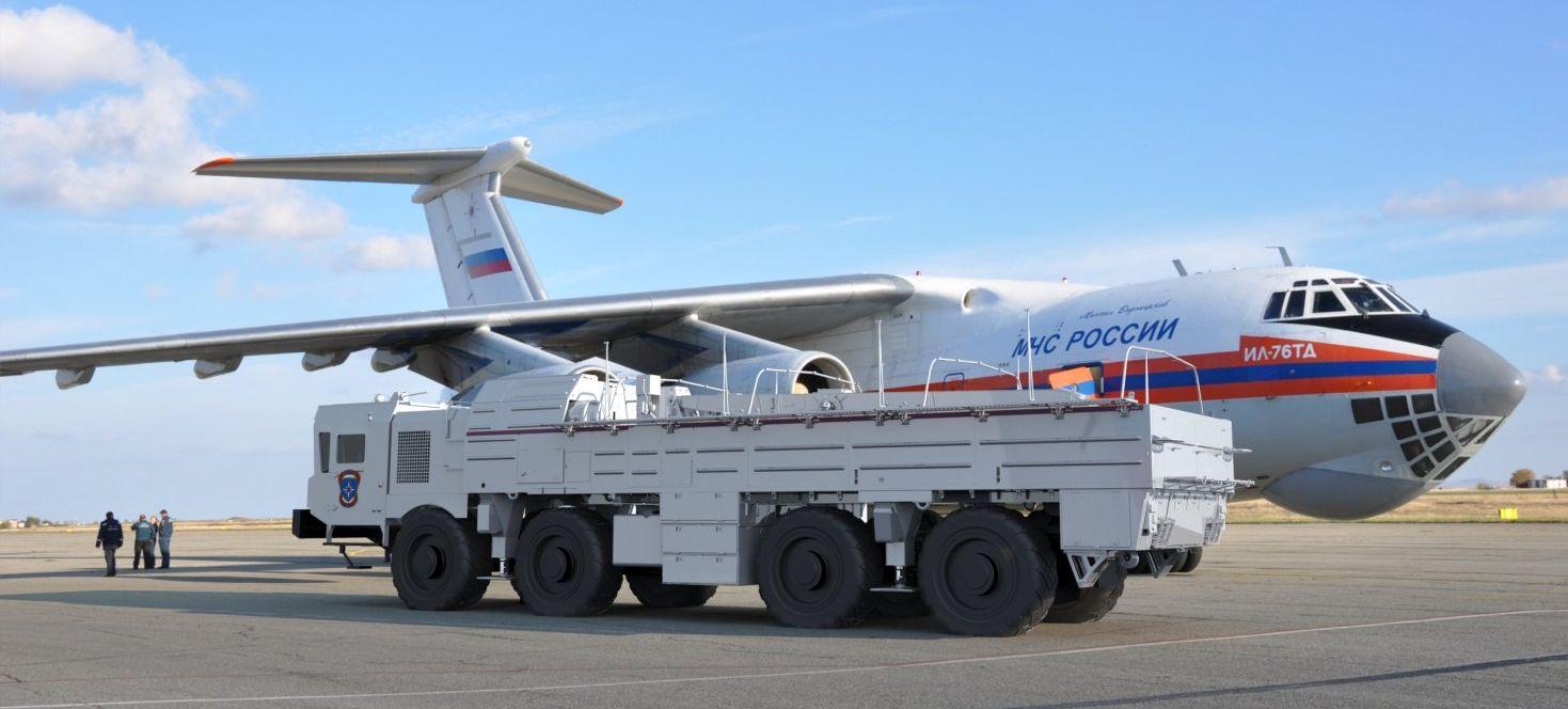 Универсальная машина МЧС (АО «ЦКБ «Титан»)