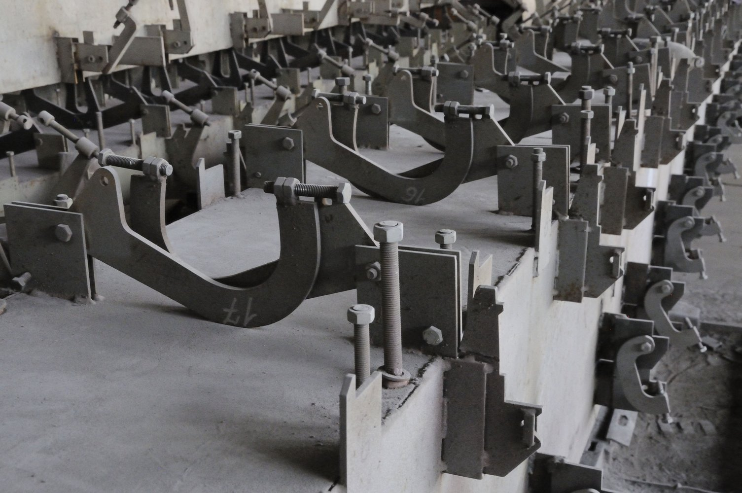 СТО 311.01.00.000 Комплект стапелей для сборки каркасов колен телескопических стрел (ООО «Пожарные Системы»)