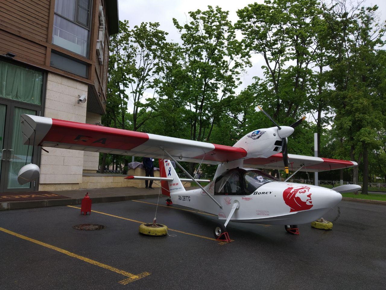 Самолет BOREY полностью спроектирован в КОМПАС-3D, включая теоретический чертеж и обводы корпуса