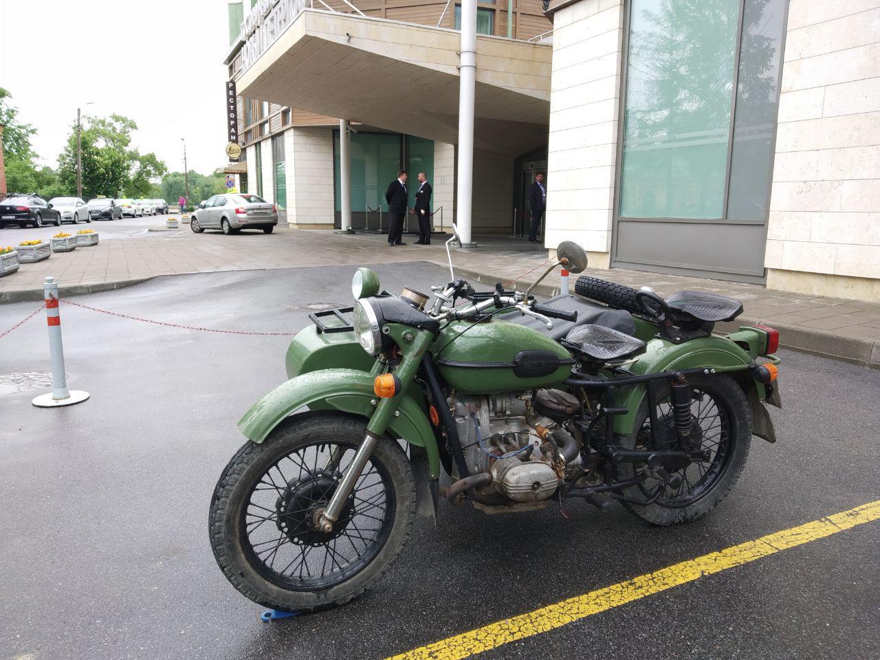 Мотоцикл «Урал» (Ирбитский Мотоциклетный Завод). В рамках модернизации почти полностью спроектирован в КОМПАС-3D